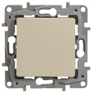 Переключатель 10AX-250В ETIKA, слоновая кость (672305)   Выключатель