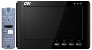 CTV-DP1704MD B (чёрный) | Комплект видеодомофона