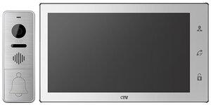 CTV-DP4102AHD W (белый)   Комплект видеодомофона