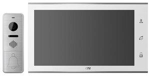 CTV-DP4105AHD W (белый) | Комплект видеодомофона