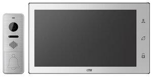 CTV-DP4106AHD W (белый) | Комплект видеодомофона