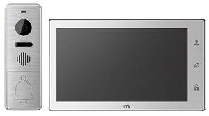 CTV-DP4706AHD W (белый) | Комплект видеодомофона