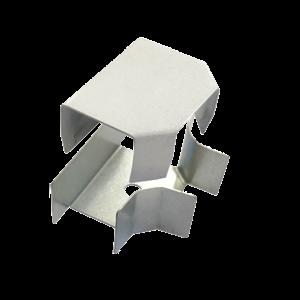 Соединитель ККМО Угол 15 T-образный металлический   Угол T-образный для кабель-канала