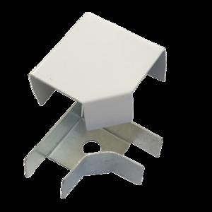 Соединитель ККМО Угол 25 L-образный металлический | Угол L-образный для кабель-канала