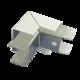 Соединитель ККМО Угол 25 Y-образный внешний металлический | Угол Y-образный внешний для кабель-канала