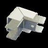 Соединитель ККМО Угол 25 Y-образный внутренний металлический | Угол Y-образный внутренний для кабель-канала