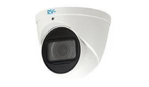 RVi-1NCE8347 (2.7-13.5) white   Видеокамера IP купольная