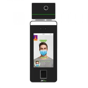 SpeedFace-V5L [TI]   Биометрический терминал распознавания лиц с функцией измерения температуры тела