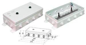 КМ IP54-1224   Коробка монтажная электротехническая