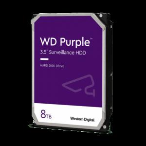 HDD 8000 GB (8 TB) SATA-III Purple (WD84PURZ) | Жесткий диск