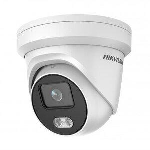 DS-2CD2347G2-LU(C)(4mm) | Профессиональная видеокамера IP купольная