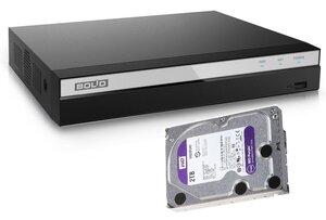 Комплект BOLID RGG-0412 версия 2 + WD20PURZ (2 TB) | Видеорегистратор мультиформатный 4-канальный + жесткий диск