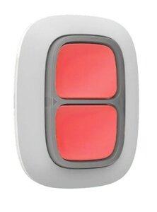 Ajax DoubleButton (white) | Беспроводная тревожная кнопка
