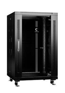SH-05C-18U60/100-BK (8539c) | Шкаф напольный 19-дюймовый, 18U