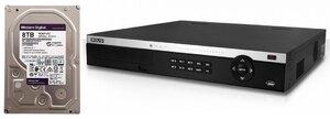 Комплект BOLID RGI-1648P16 + WD82PURZ (8 TB)   IP-видеорегистратор 16-канальный + жесткий диск