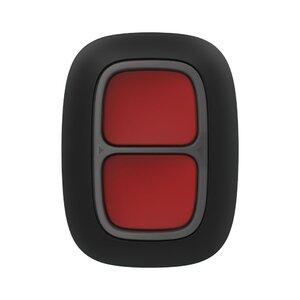 Ajax DoubleButton (black) | Беспроводная тревожная кнопка