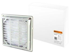 SQ0832-0012 (250 мм)   Вентиляционная решетка с фильтром для вентилятора