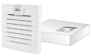 ВФУ SQ0832-0112 (204 мм) | Вентиляционная решетка с фильтром для вентилятора